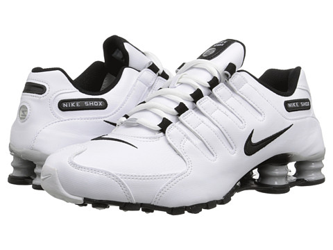 Nike - Nike Shox NZ EU (White/Wolf Grey/Black) Women's Shoes