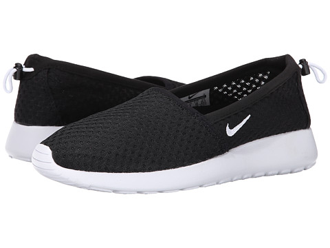 Nike - Roshe One Slip (Black/White) Women's Shoes
