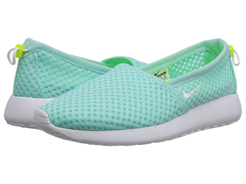 Nike - Roshe One Slip (Artisan Teal/Volt/White) Women's Shoes