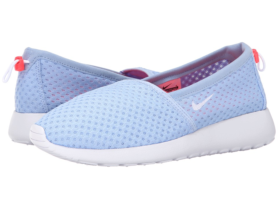 Nike - Roshe One Slip (Aluminum/Bright Crimson/White) Women