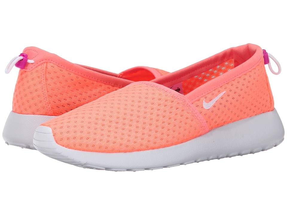 Nike - Roshe One Slip (Lava Glow/Fuchsia Flash/White) Women