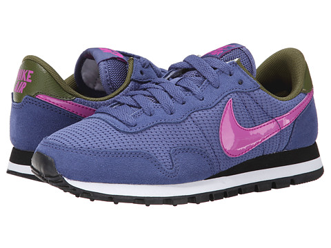 Nike - Air Pegasus '83 (Blue Legend/Faded Olive/Black/Fuchsia Flash) Women's Shoes