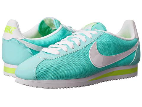 Nike - Classic Cortez BR (Artisan Teal/Volt/White) Women
