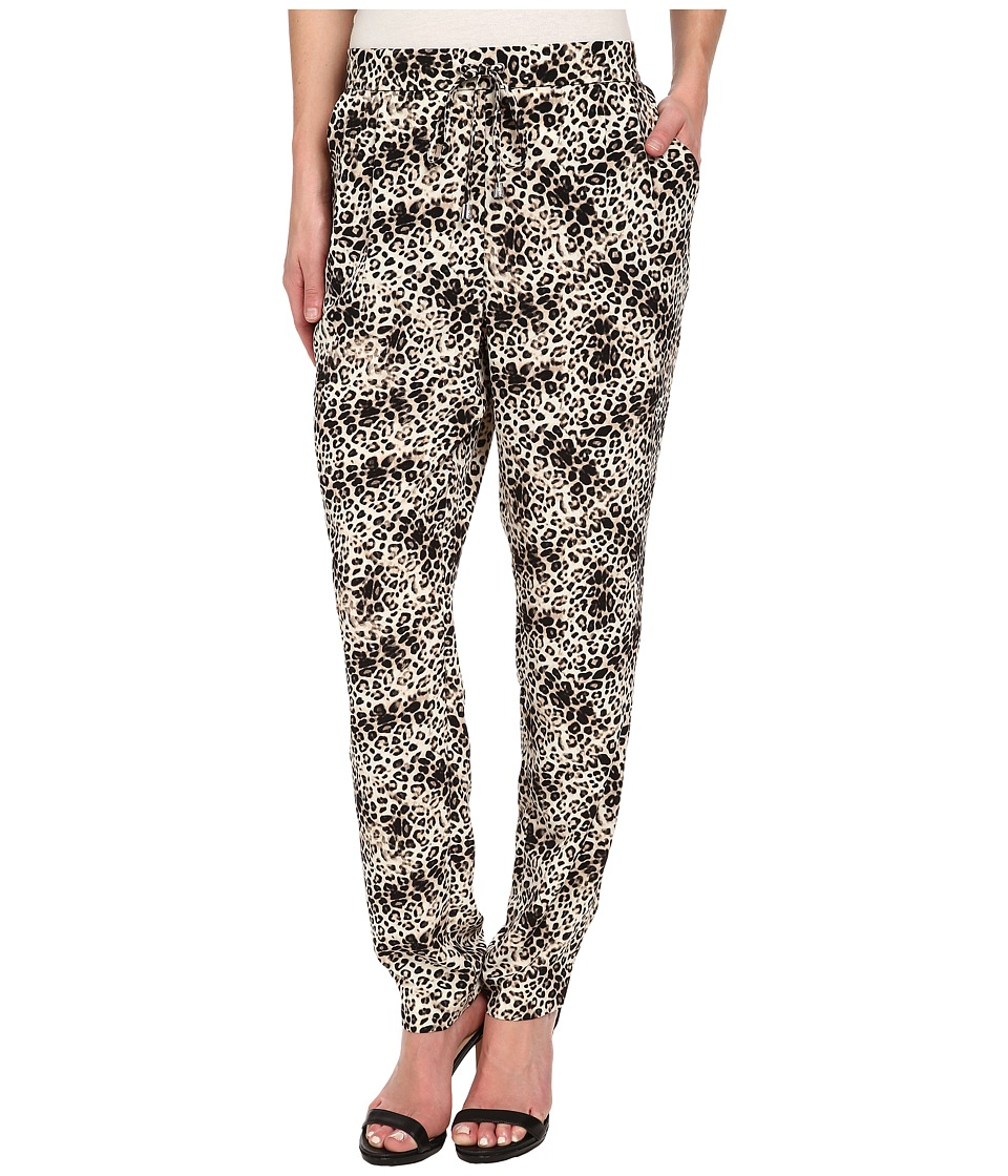Vince Camuto - Animal Legacy Slim Leg Pull-On Pants (Rich Black) Women's Casual Pants