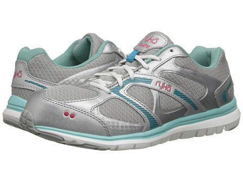 Ryka - Elate (Chrome Silver/Aqua Sky/Enamel Blue/Azalea) Women's Shoes