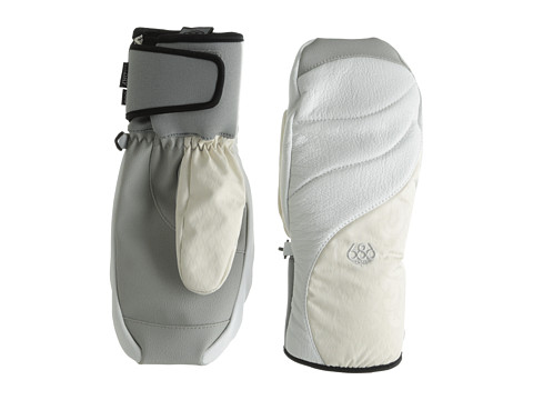 686 - Parklan Drift Leather Mitt (Ivory) Extreme Cold Weather Gloves