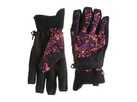 686 - Authentic Rhythm Pipe Glove (Plum Floral Camo) Extreme Cold Weather Gloves
