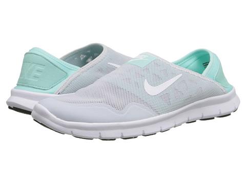 Nike - Orive Lite Slip-On (Pure Platinum/Artisan Teal/White) Women
