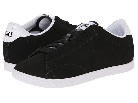 Nike - Racquette Leather (Black/White/Black) Women's Court Shoes