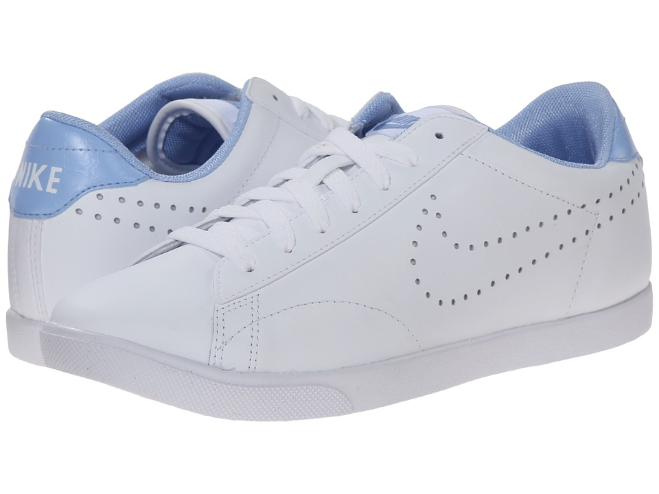 Nike - Racquette Leather (White/Aluminum/White) Women's Court Shoes