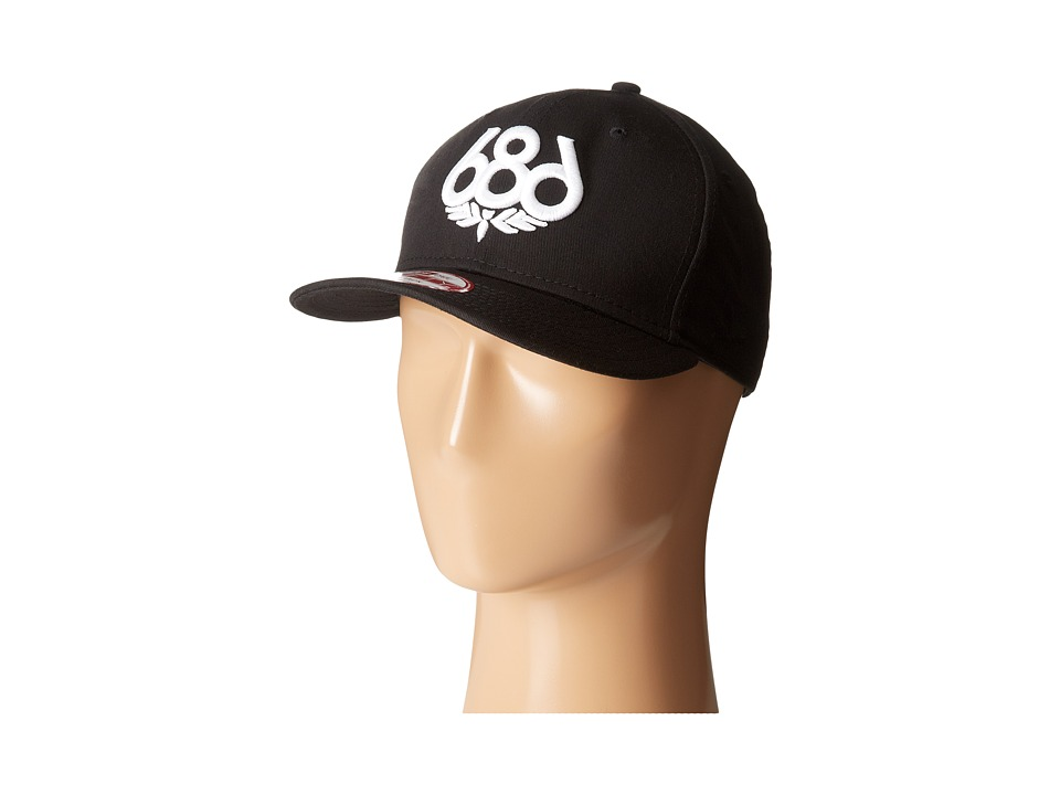 686 - Icon Snap Back Hat (Black) Caps