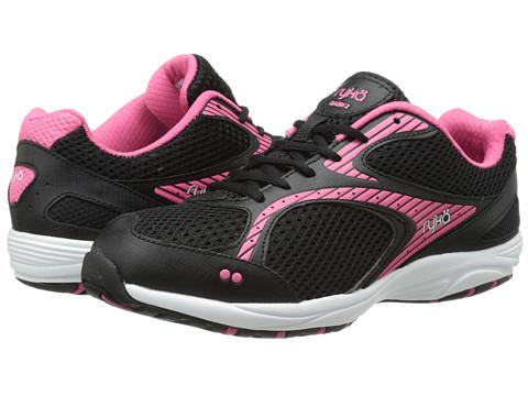 Ryka - Dash 2 (Black/Hot Pink/White) Women's Shoes