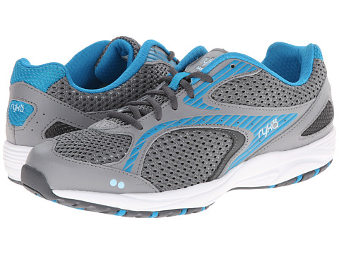 Ryka - Dash 2 (Frost Grey/Iron Grey/Malibu Teal/Crystal Blue) Women's Shoes