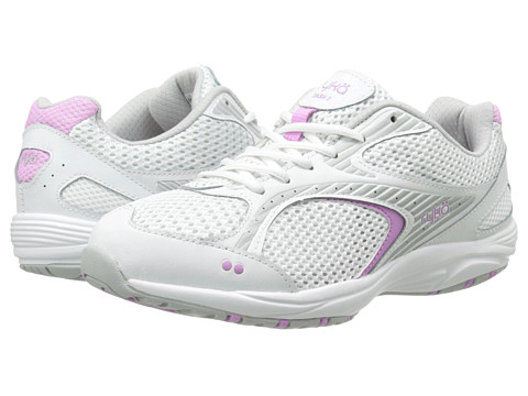 Ryka - Dash 2 (White/Fairy Lavender/Vapor Grey/Cool Mist Grey) Women