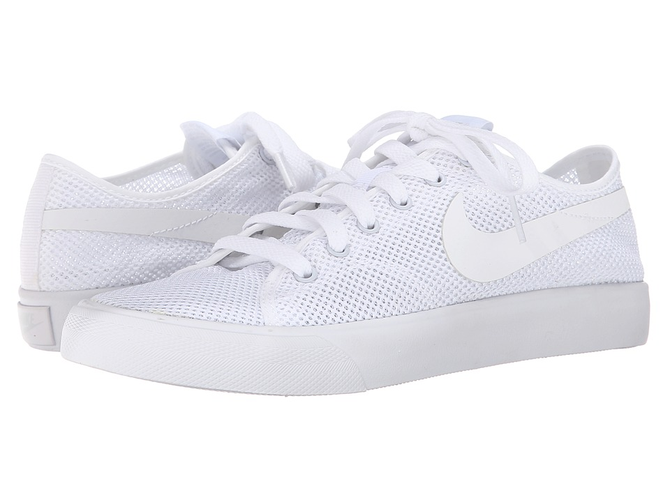 Nike - Primo Court Mesh (White/White) Women's Shoes