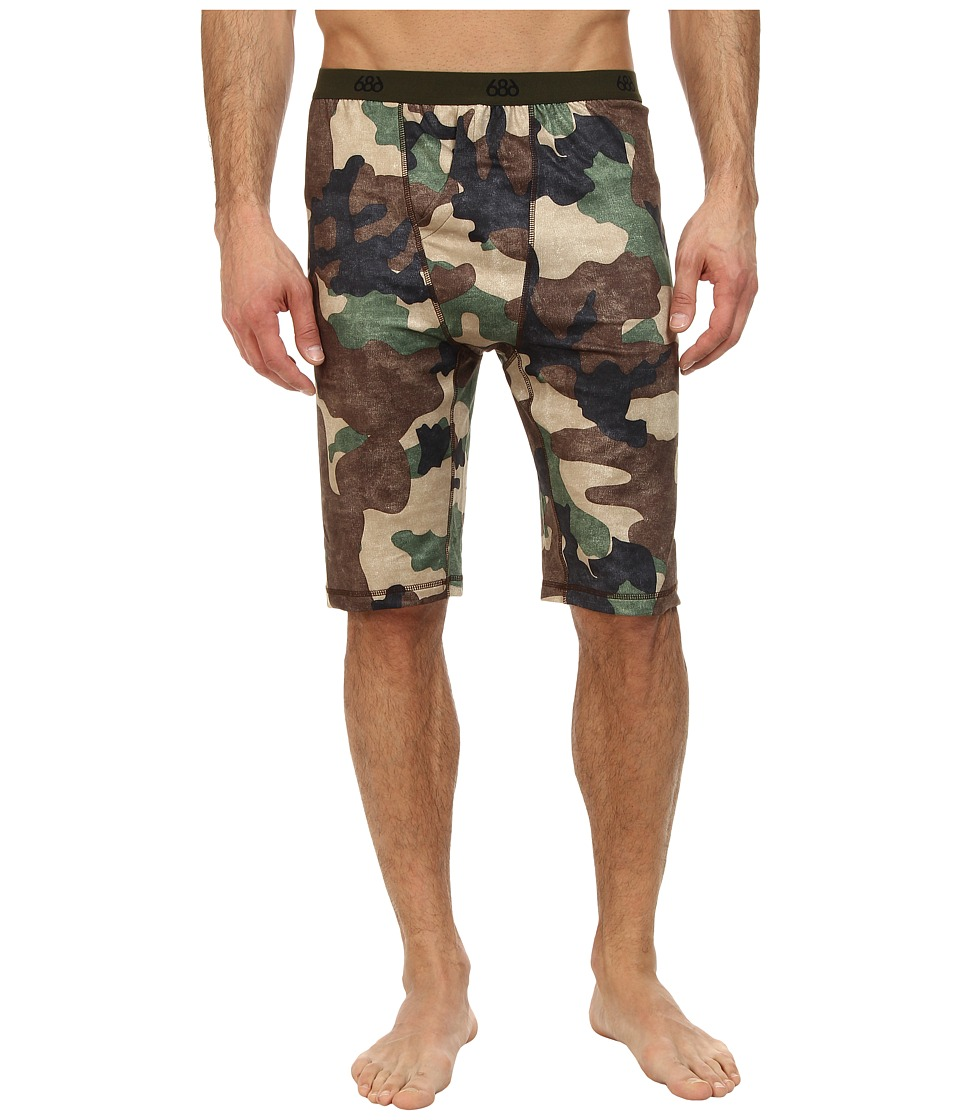 686 - Versa Base Layer Short (Hunter Canvas Camo) Men's Shorts