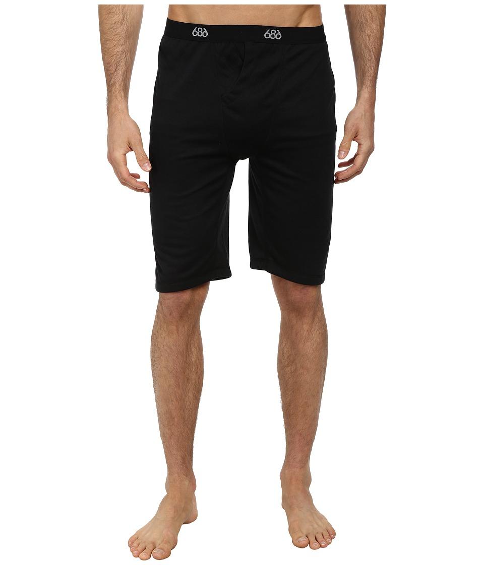 686 - Versa Base Layer Short (Black) Men's Shorts