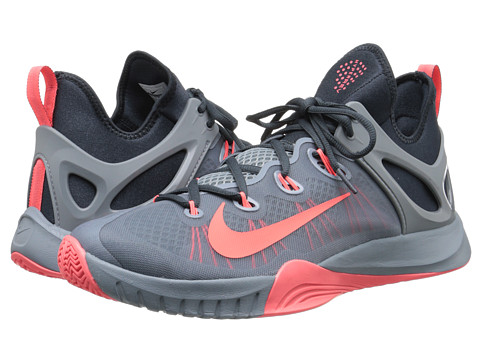 Nike - Zoom HyperRev 2015 (Dove Grey/Classic Charcoal/Hot Lava) Men
