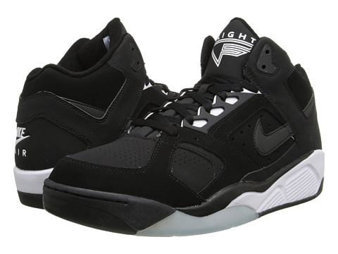 Nike - Air Flight Lite Low (Black/White) Men
