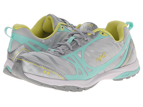 Ryka - Fit Pro 2 (Cool Mist Grey/Chrome Silver/Beach Glass/Limelight) Women's Shoes