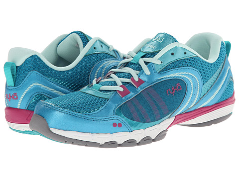 Ryka - Flextra (Enamel Blue/Teal Blast/Mint Ice/Bougainvillea) Women's Shoes