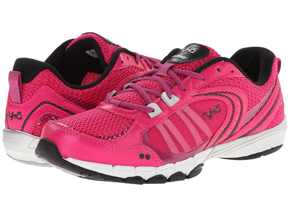 Ryka - Flextra (Ryka Pink/Black/Bougainvillea/Chrome Silver) Women
