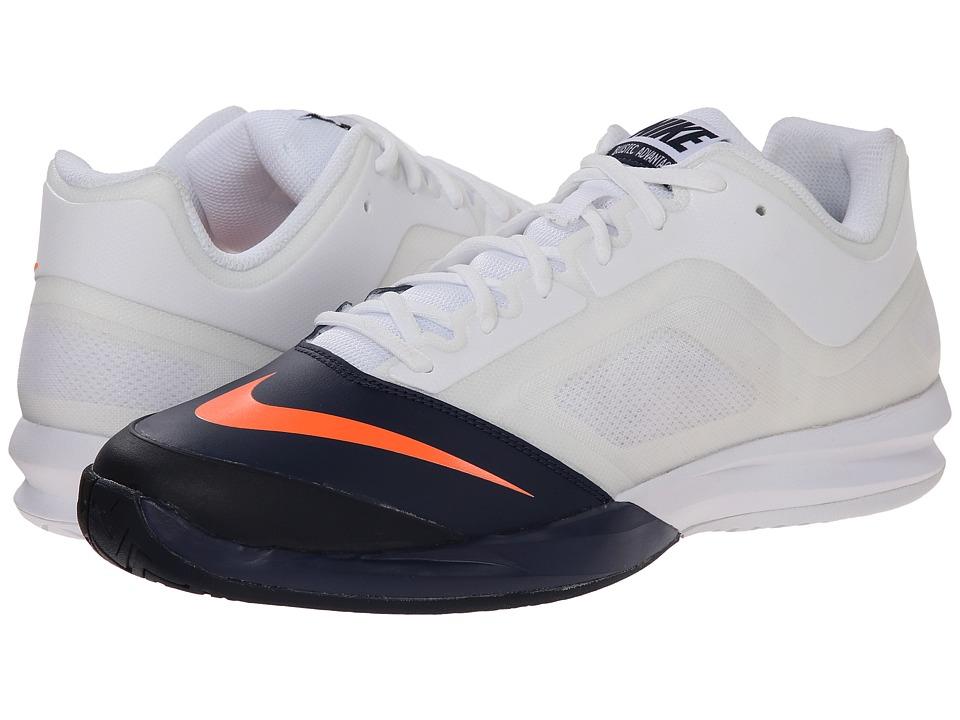 Nike - DF Ballistec Advantage (White/Midnight Navy/Black/Total Orange) Men