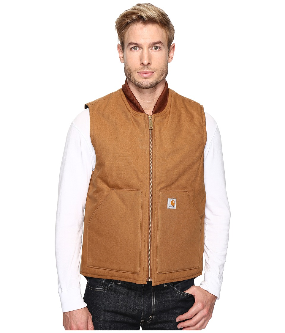 Carhartt - Duck Arctic Vest (Carhartt Brown) Men's Coat