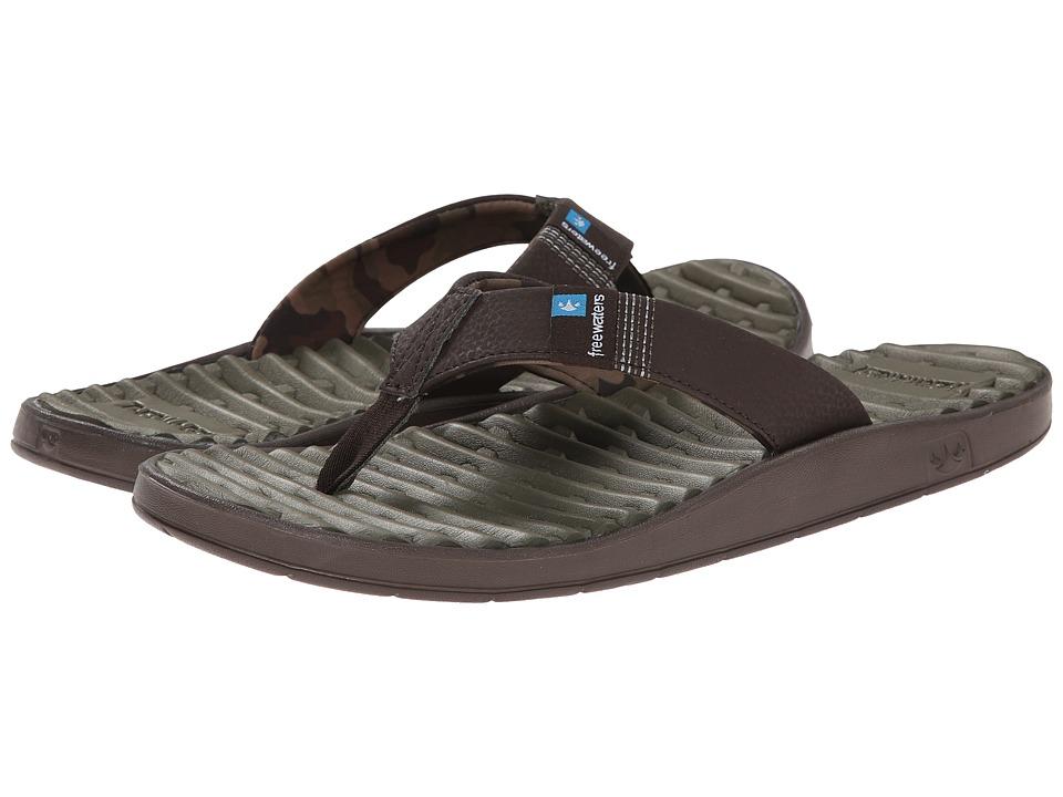 Freewaters - GPS (Brown) Men's Sandals