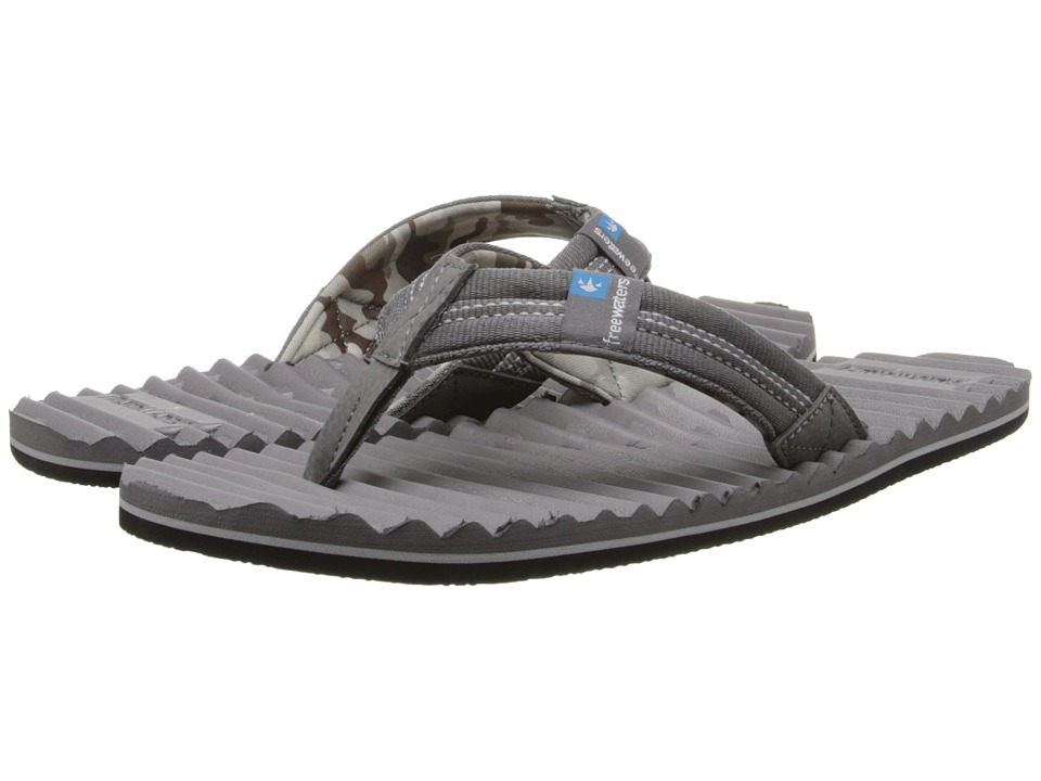 Freewaters - Scamp (Dark Grey) Men's Sandals
