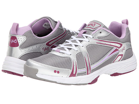 Ryka - Approach (Frost Grey/Chrome Silver/Raspberry Radiance) Women's Shoes