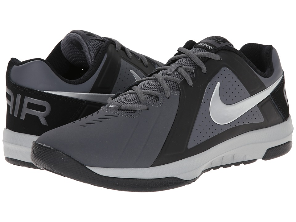 Nike - Air Mavin Low NBK (Dark Grey/Black/Metallic Silver) Men's Basketball Shoes