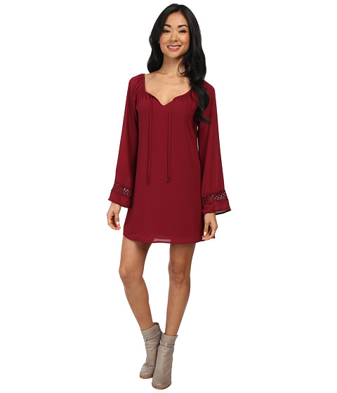 Lucy Love - Left Bank Dress (Garnet) Women