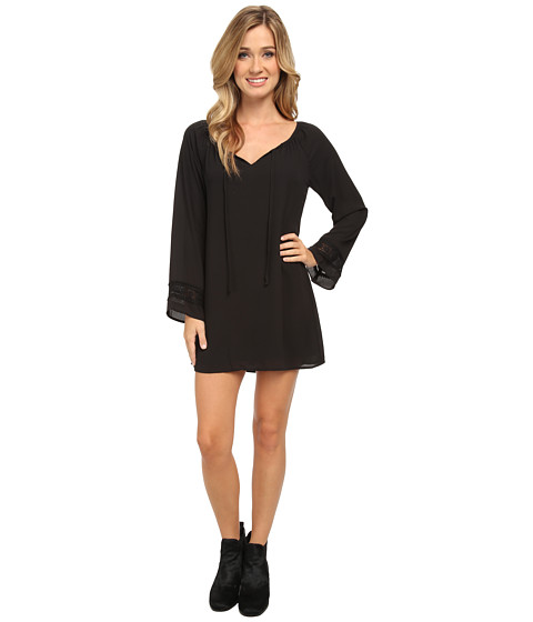 Lucy Love - Left Bank Dress (Black) Women's Dress