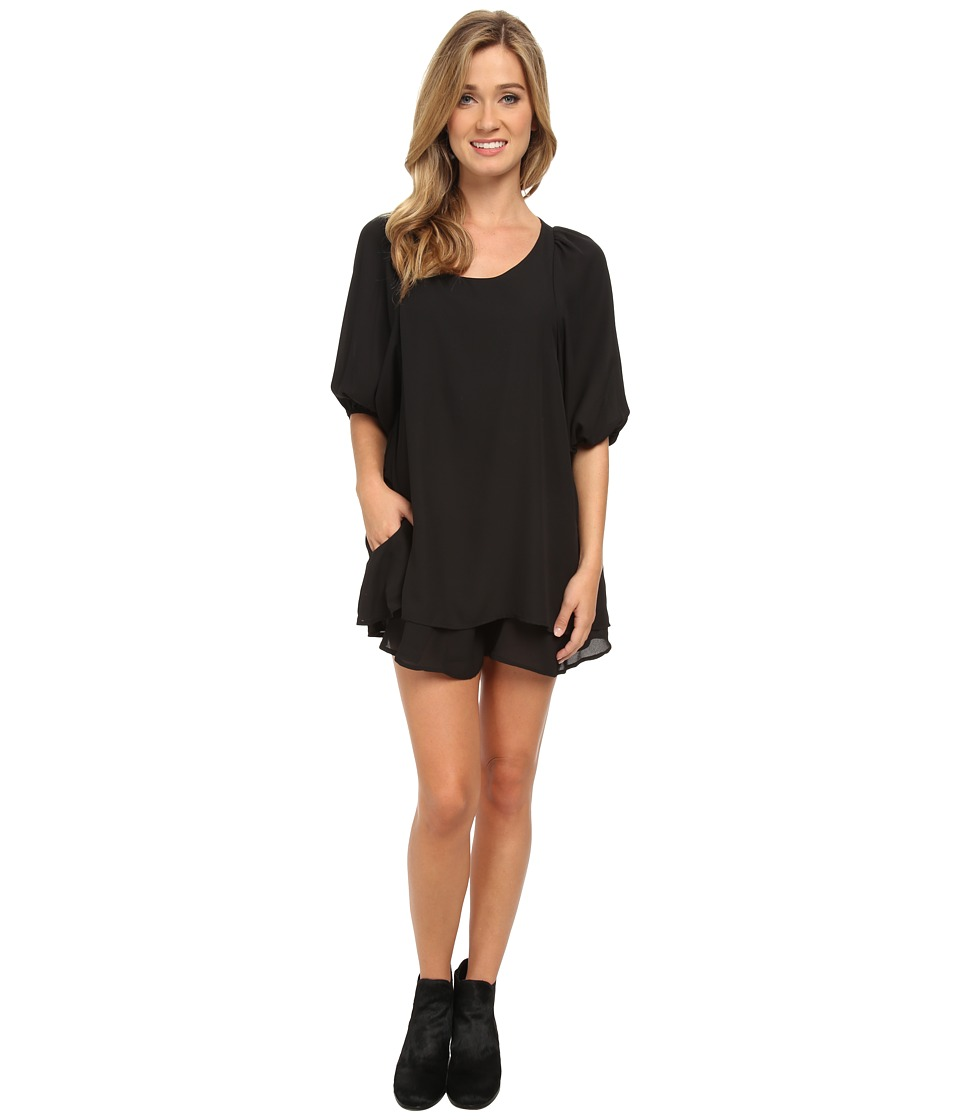 Lucy Love - Gabrielle Dress (Black 2) Women's Dress