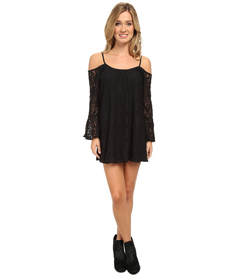 Lucy Love - Lace Hollie Dress (Black) Women
