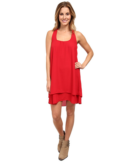 Lucy Love - Bow Back Dress (Red) Women's Dress