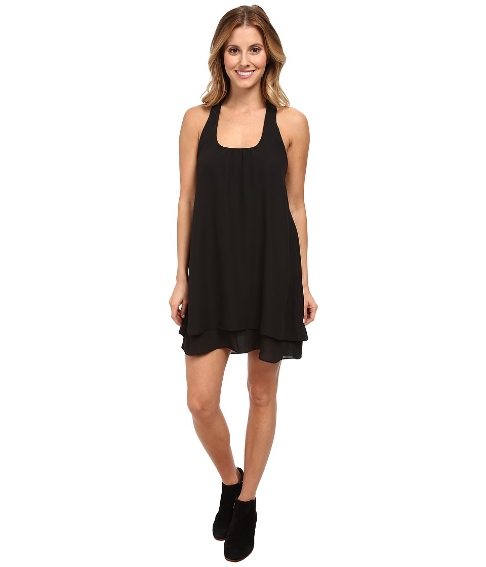 Lucy Love - Bow Back Dress (Black) Women's Dress