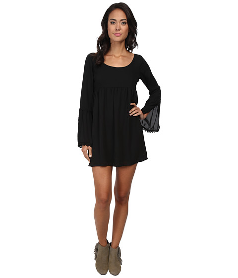 Lucy Love - Emily Dress (Black) Women's Dress