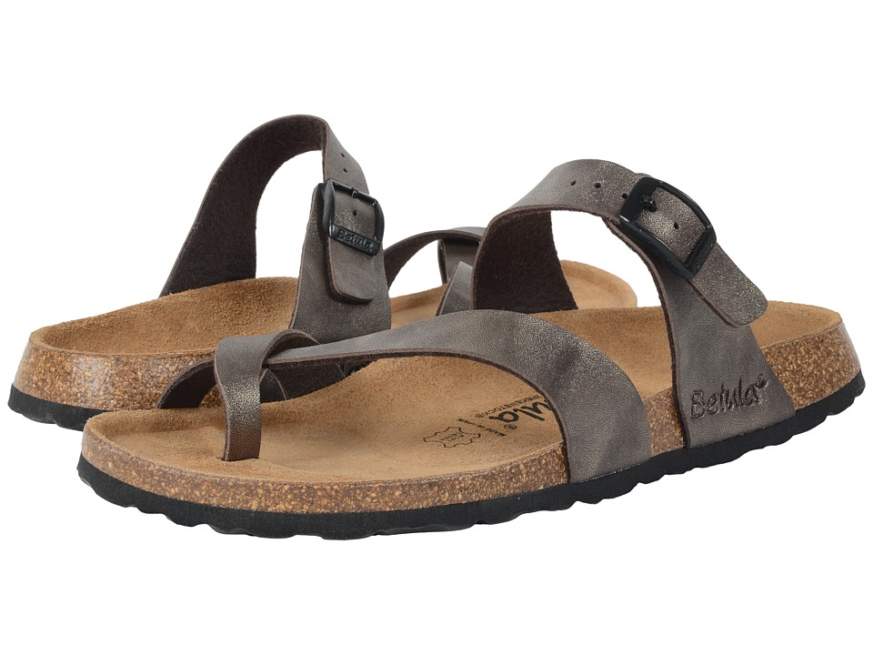 Image of Betula Licensed by Birkenstock - Mia (Golden Brown) Women's Sandals