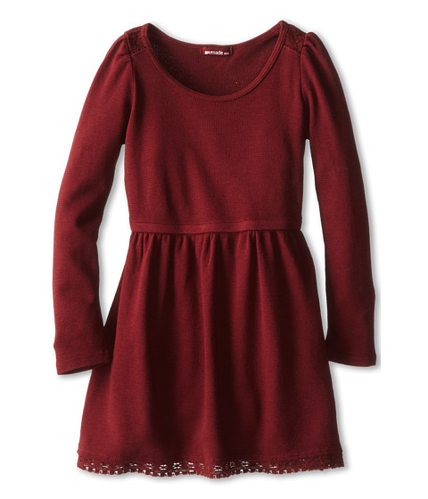 LAmade Kids - Princess Dress (Little Kids) (Syrah) Girl