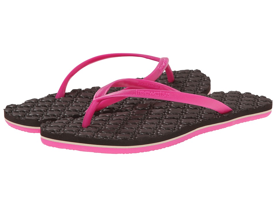 Freewaters - Isabelle (Fuchsia/Brown) Women's Shoes