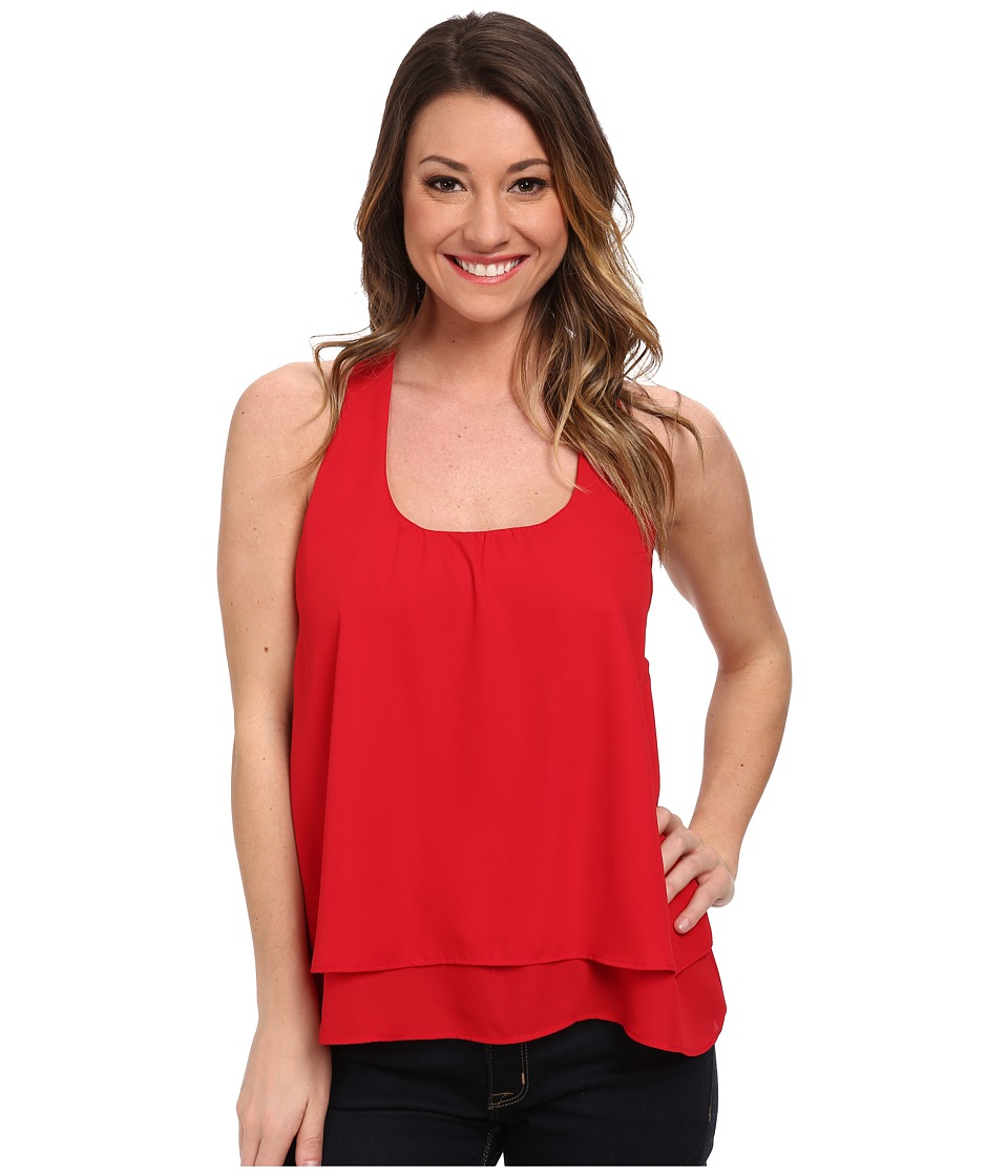 Lucy Love - Bow Back Top (Red) Women's Sleeveless