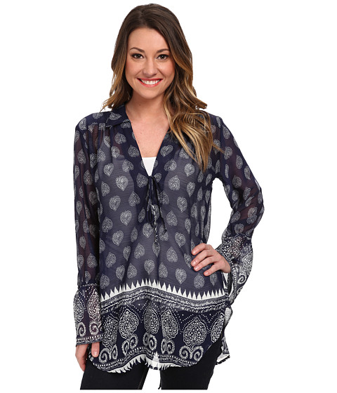 Lucy Love - Casa Blanca Top (Santa Barbara) Women's Long Sleeve Pullover