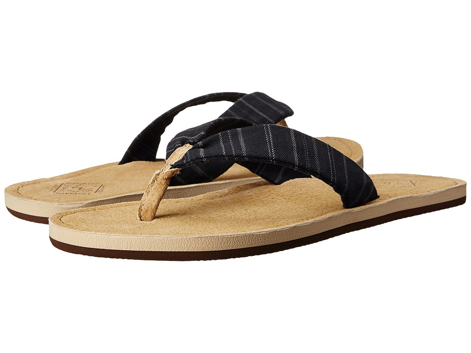 Freewaters - Kitz (Black Pin Stripe) Women's Sandals