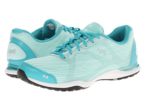 Ryka - Grafik (Teal Blast/Beach Glass/Mint Ice/Chrome Silver) Women's Shoes