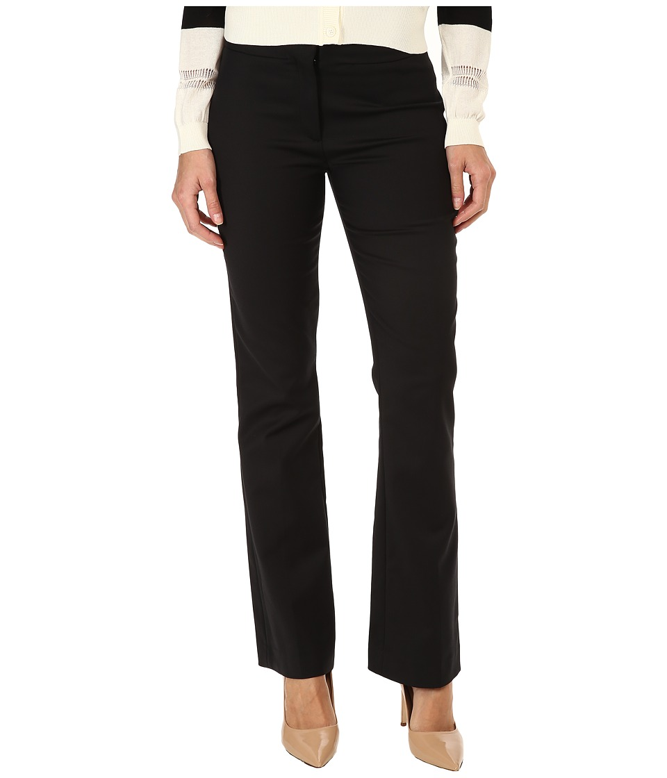 CoSTUME NATIONAL - Boot Cut Trouser (Black) Women's Clothing