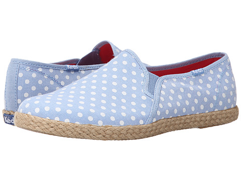 Keds - Twin Gore w/ Jute Chambray Dot (Chambray 2) Women