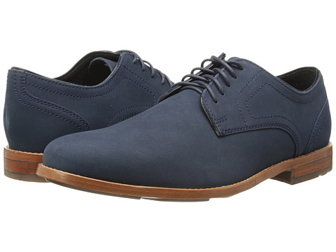 Rockport - Style Refinement Plaintoe (New Dress Blues) Men