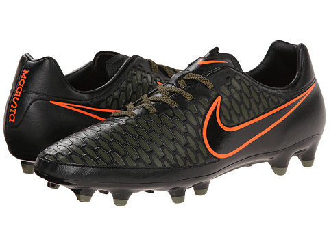 Nike - Magista Onda FG (Black/Rough Green/Black) Men's Soccer Shoes